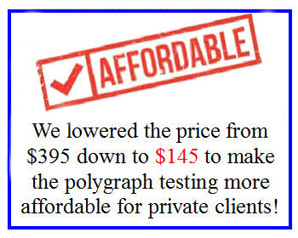 lowest price on a polygraph test in Los Angeles