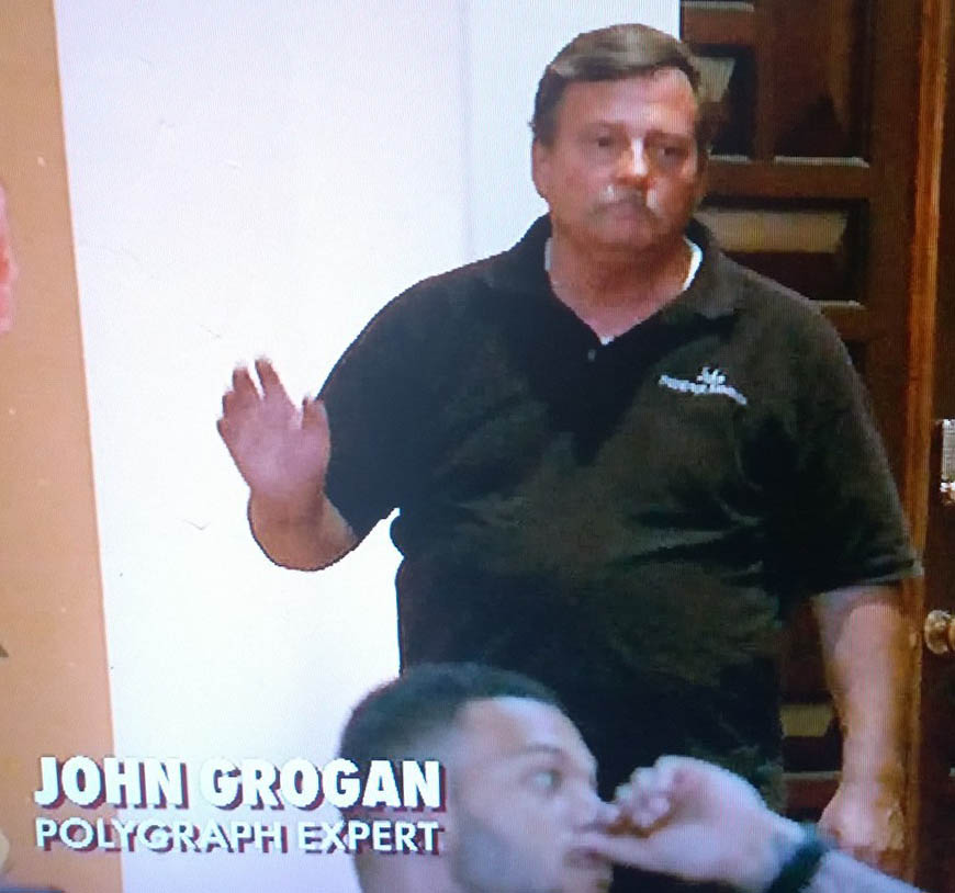 Need a certified polygraph examination? Contact John Grogan Polygraph
